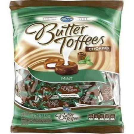 Caramelos Butter Toffes Chocolate y menta 822 grs bolsa