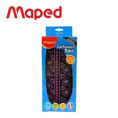 Cartuchera - Canopla Maped Girls Tubo Black